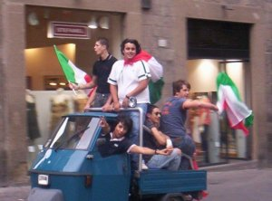 World Cup Fever In Italy