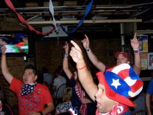 U.S. Soccer Fans at Green Street